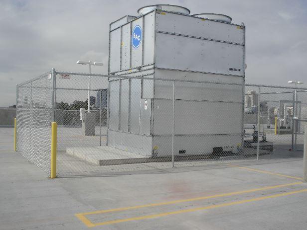 metal cage fence utah