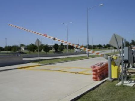 traffic barrier arms utah